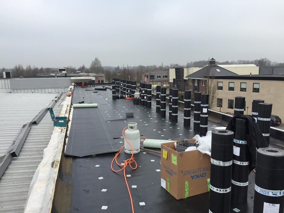 Dakwerk Timmerfabriek Vermeer te Renswoude.