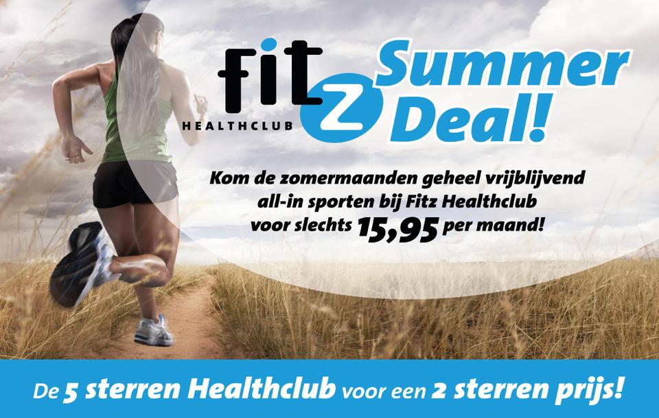 Sport de zomermaanden voor slechts €15,95 per maand!
