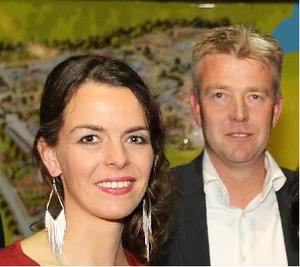 Ingrid Jansen en Eric Douma 'ongelooflijk trots' op varkenshouders
