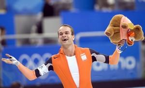 Erben Wennemars geeft varkenshouders NVV 'les' in topsport