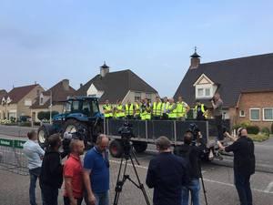 Luid protest NVV bij avond VVD Brabant