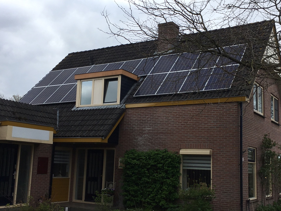 PV panelen woonhuis in Renswoude