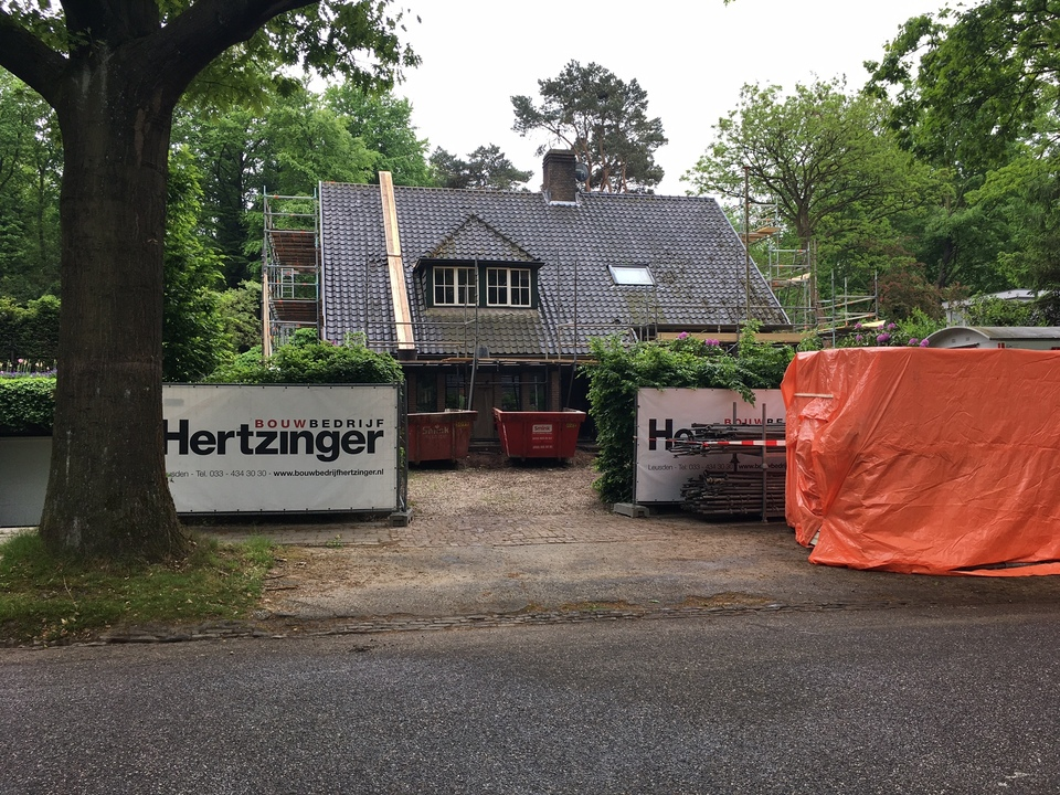 Verbouwing woonhuis Amersfoort