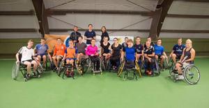 Internationaal rolstoel tennis toernooi