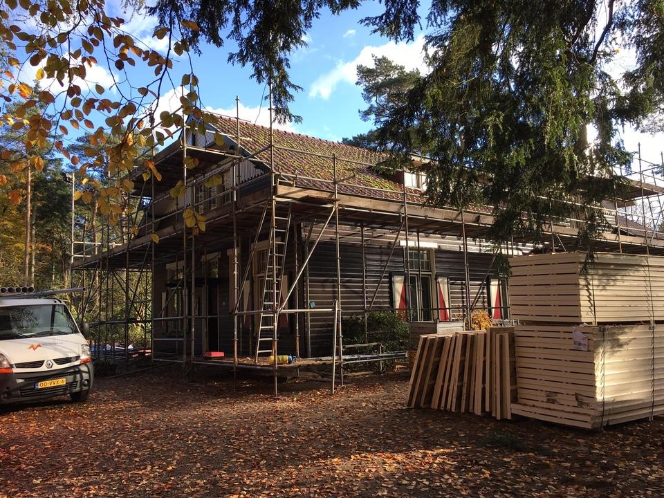 Verbouwing vrijstaande woning te Lunteren