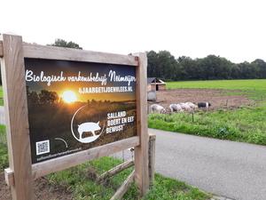 AH dag bij bio varkensbedrijf Heino