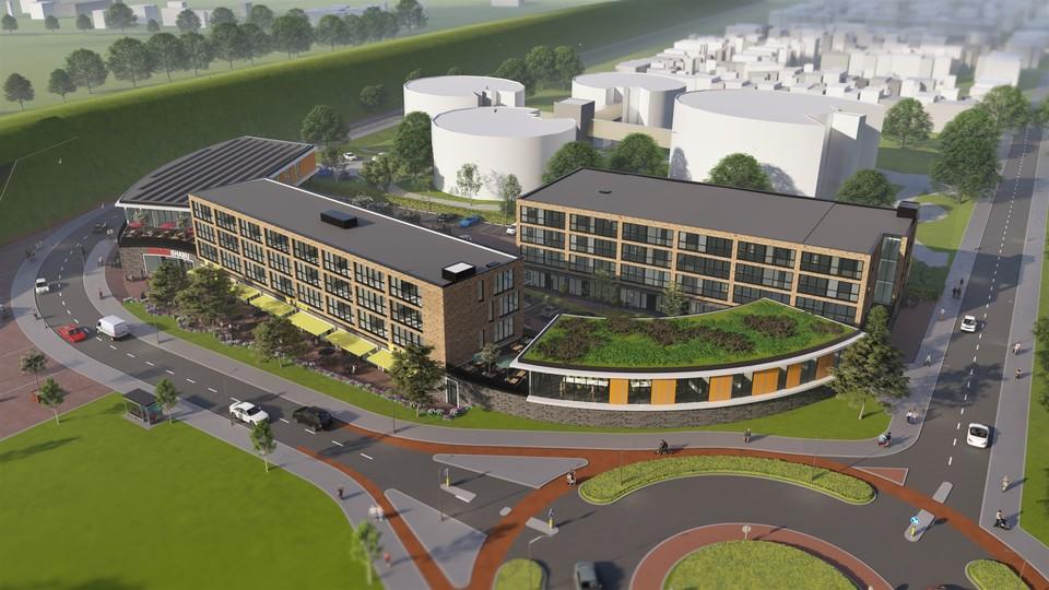 Nieuwbouw project De Gelderhorst en Valley Center West te Ede