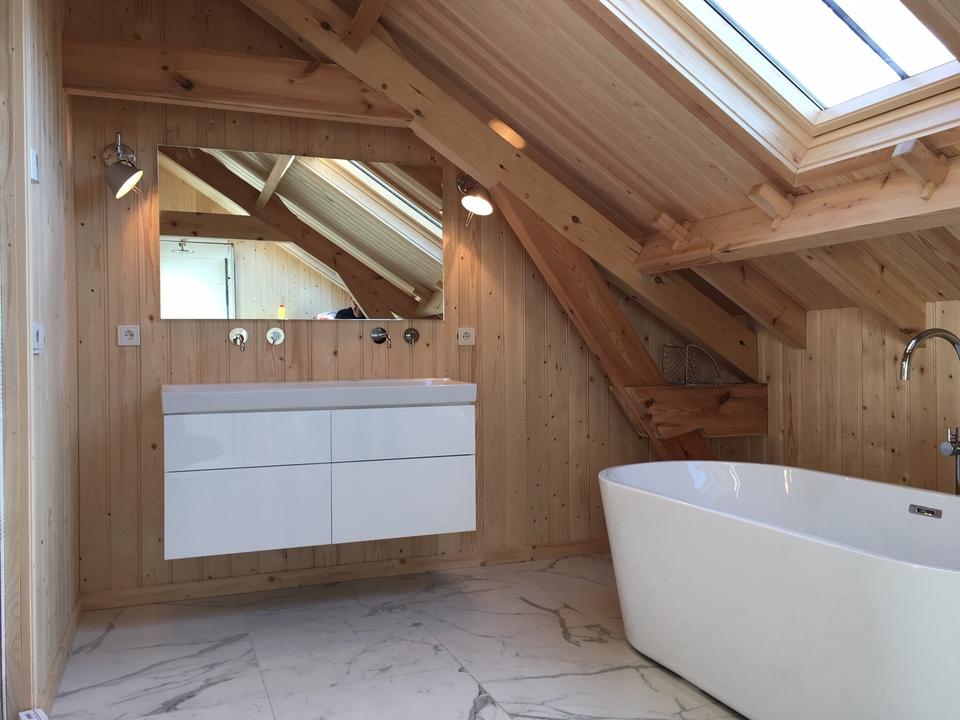 Badkamer bijgebouw te Lunteren
