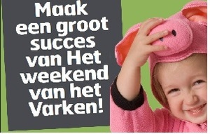 Leden NVV: Help mee met Weekend van het Varken!