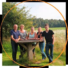Melkveebedrijf en BoerenBed 't Wesselink, familie Smale