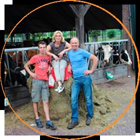 Melkveehouderij De Oarns Hoeve, Familie Besten