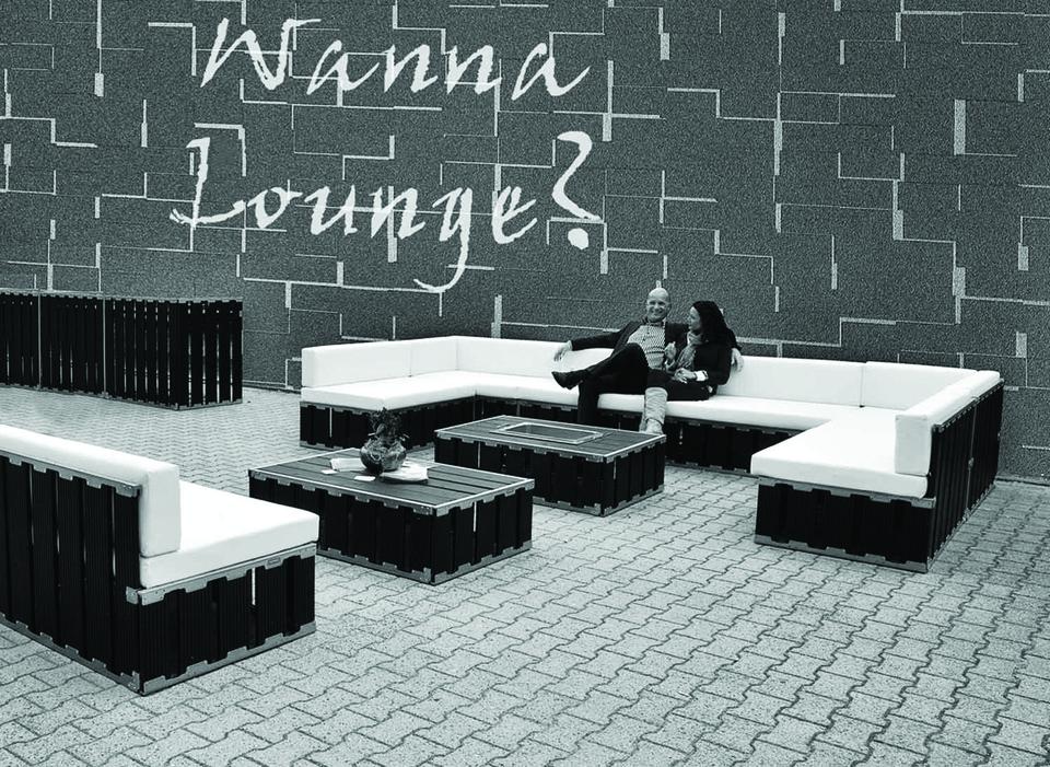 Loungebanken huren bij More2rent..