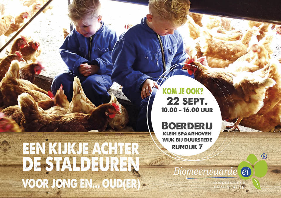 Uitnodiging: 22 sept bij familie van Veen in Wijk bij Duurstede
