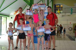 Foto's afzwemmen staan online!