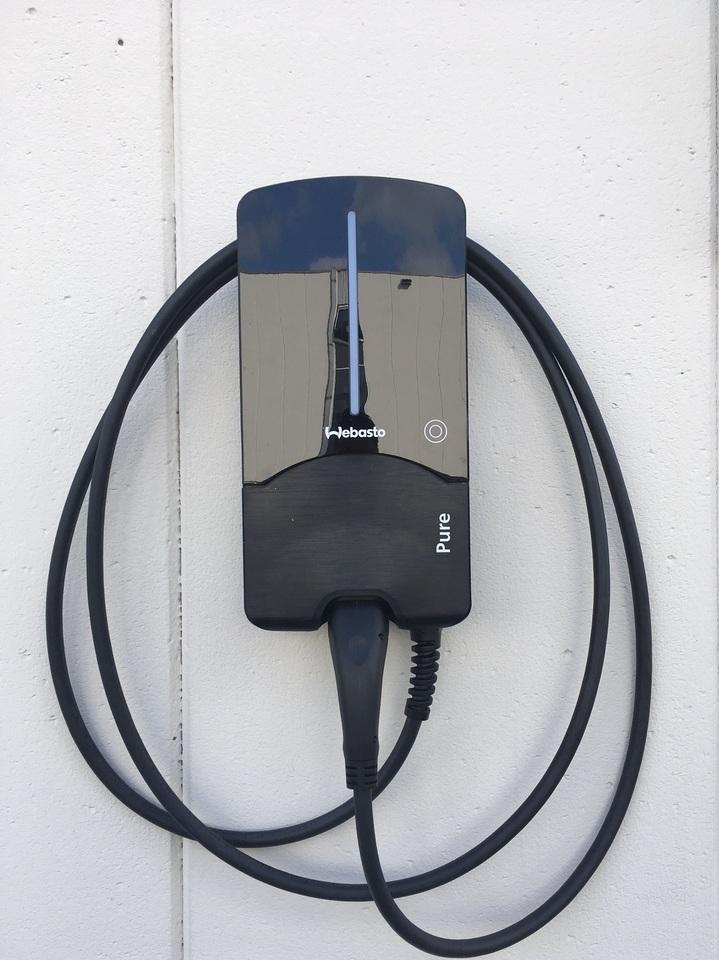 Wandladers tbv elektrische auto's