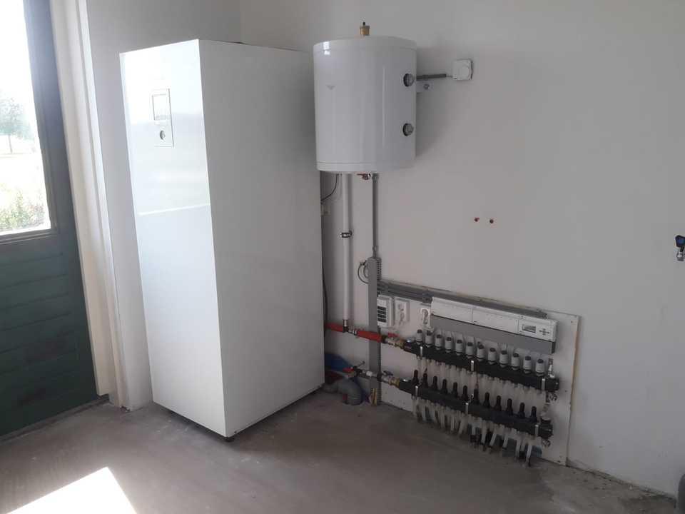 Warmtepomp geïnstalleerd te Nijkerk