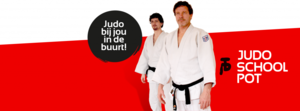 Overname Judomeesters door Judoschool Pot.