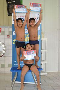 Foto's afzwemmen 5 oktober staan online!