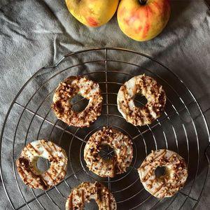Gezonde Appel Donuts