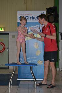 Foto's afzwemmen staan online