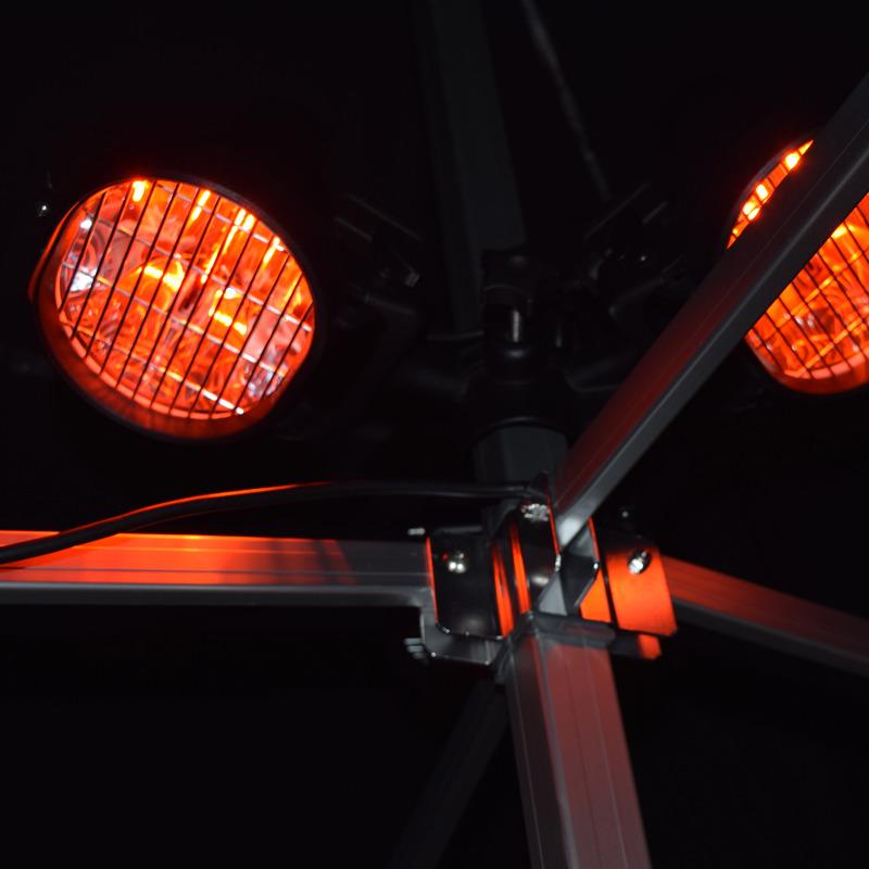 Hangende elektrische heather (220V)