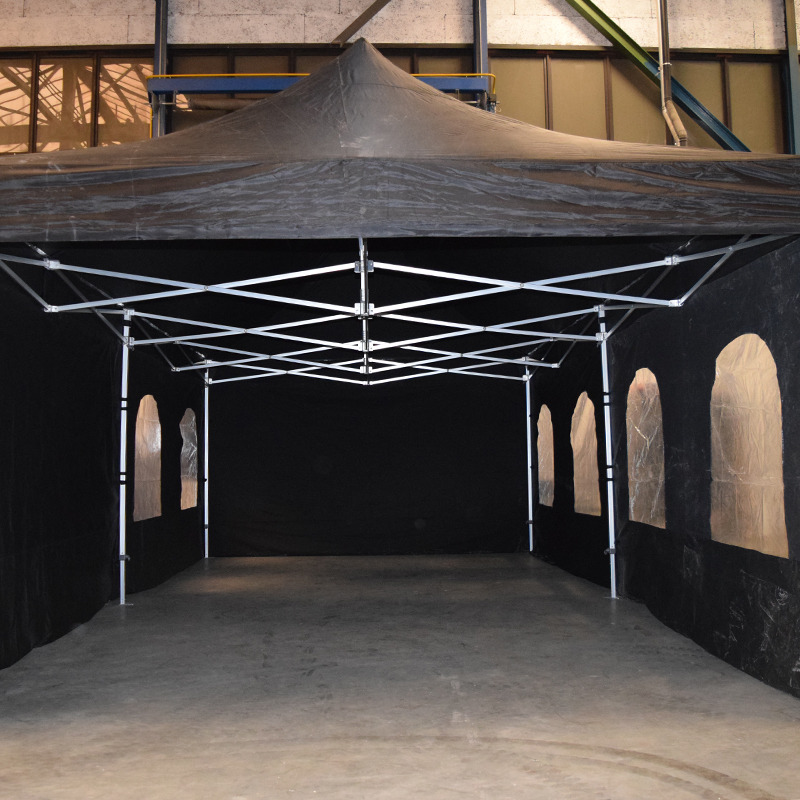Easy-up partytent 8m x 4m