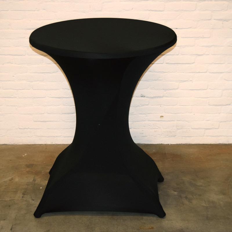 Statafel incl. zwarte rok
