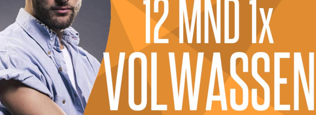 12 mnd 1x pw volwass...