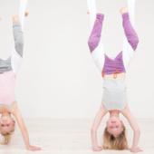 Aerial yoga voor KIN...