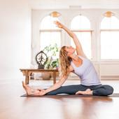Online Yin yoga met ...