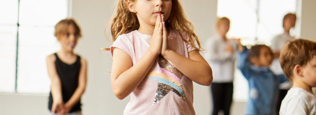 Kids yoga 6 strippen