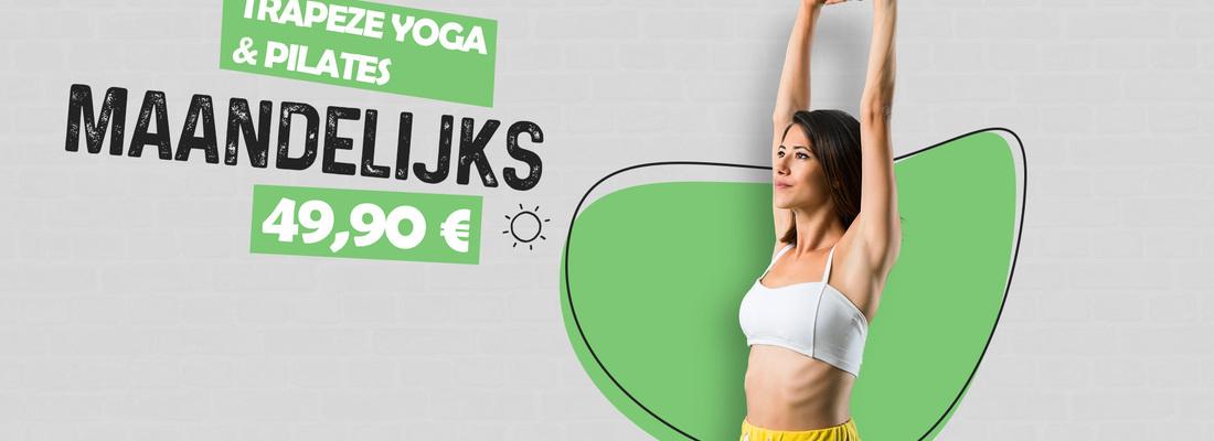 Trapeze yoga en Pila...