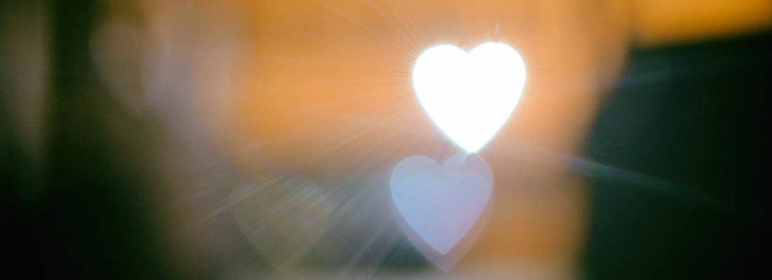 Heart opening Valentine...