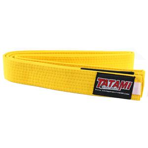 Yellow Junior Belt Te...