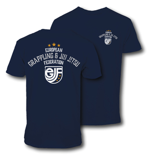 EGJJF T-shirt Blue