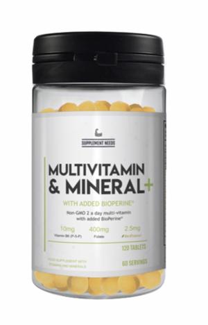 Multivitamin and Mine...