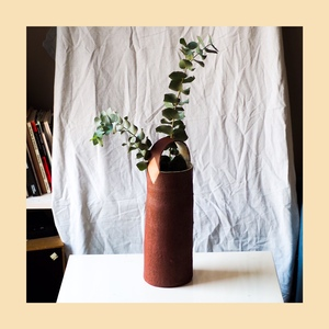 Hand build vase with ...