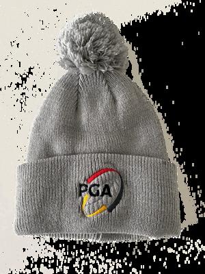 Bobble hat with PGA l...